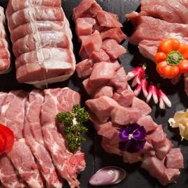 Caissette de porc par 5kg